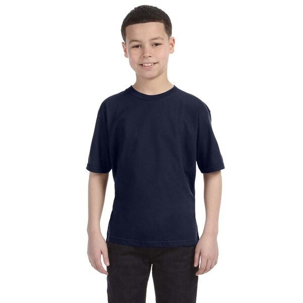 Lightweight Boys' Navy T-Shirt
