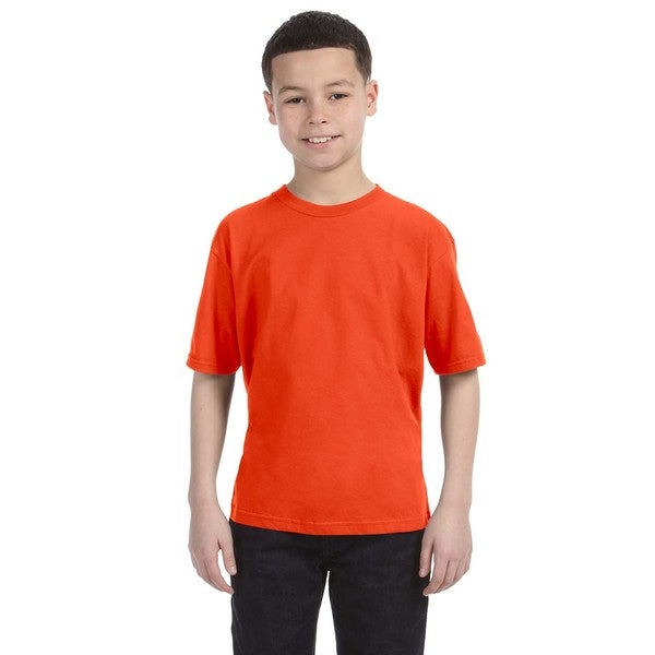 Lightweight Boys' Orange T-Shirt