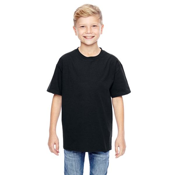 Nano-T Boys' Black T-Shirt 19773072