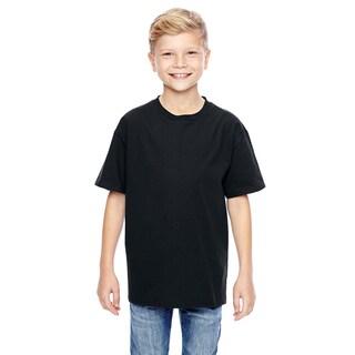 Nano-T Boys' Black T-Shirt