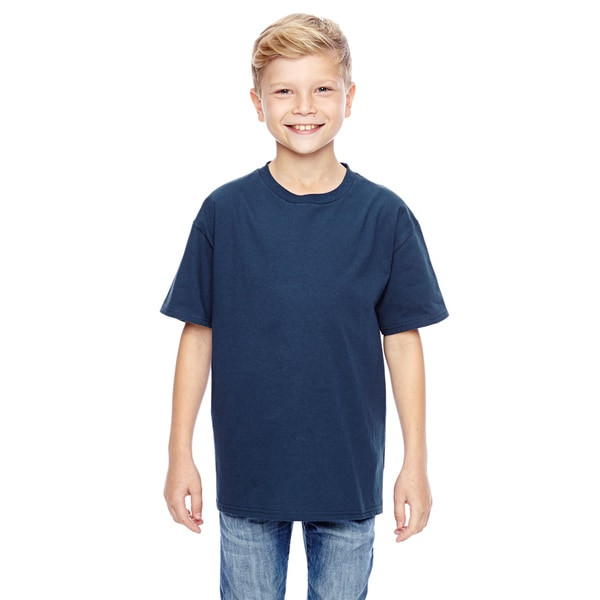 Nano-T Boys' Navy T-Shirt