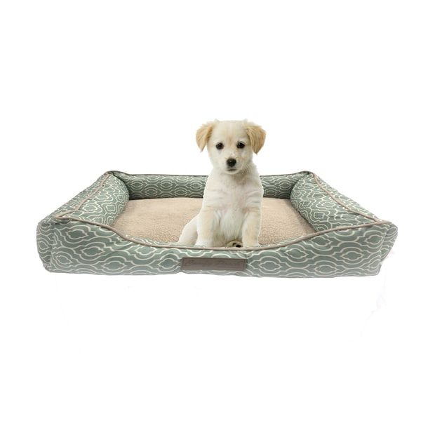 Deluxe Polyester Printed Ultra-soft Hypoallergenic Pooch Pet Bed