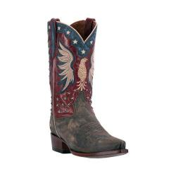 Men's Dan Post Boots Bountiful Cowboy Boot DP2505 Bay Apache/Red Leather