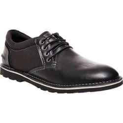 Men's Steve Madden Influx Oxford Black Multi Leather/Canvas