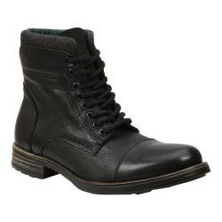 Men's GBX Tosh Cap Toe Sweater Boot Black Leather