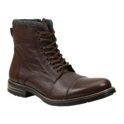 Men's GBX Tosh Cap Toe Sweater Boot Brown Leather