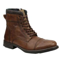 Men's GBX Tosh Cap Toe Sweater Boot Tan Leather