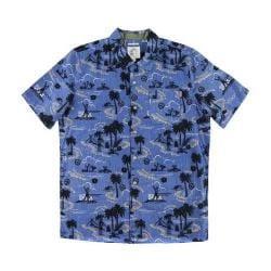 Boys' O'Neill Scene Short Sleeve Shirt Blue