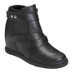 Women's Aerosoles Street Smart Bootie Black Leather