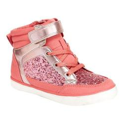 Girls' Hanna Andersson Ulla High Top Sneaker Image Pink Polyurethane