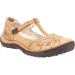 Women's Jambu Bridget T-Strap Shoe Oatmeal Nubuck
