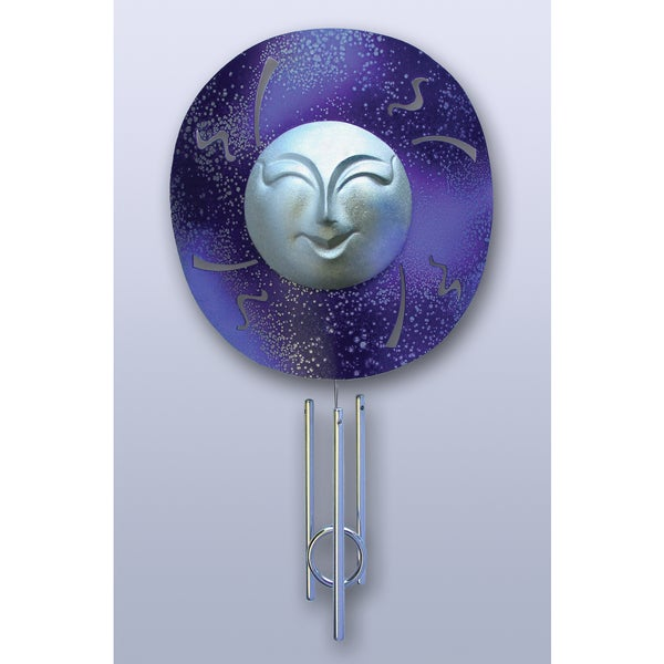 Moon Solar Powered Window Chime