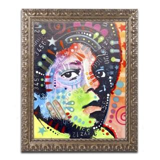 Dean Russo 'Michael Jackson' Ornate Framed Art