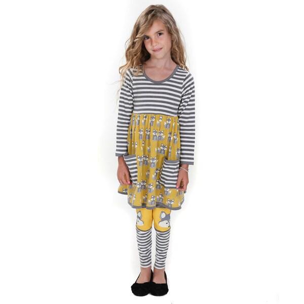 Tyler Fox Hill Lined Dress & Legging set
