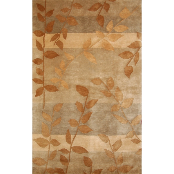 Greyson Living Fairhaven Tan/ Beige/ Gold Area Rug (7'9 x 10'6)