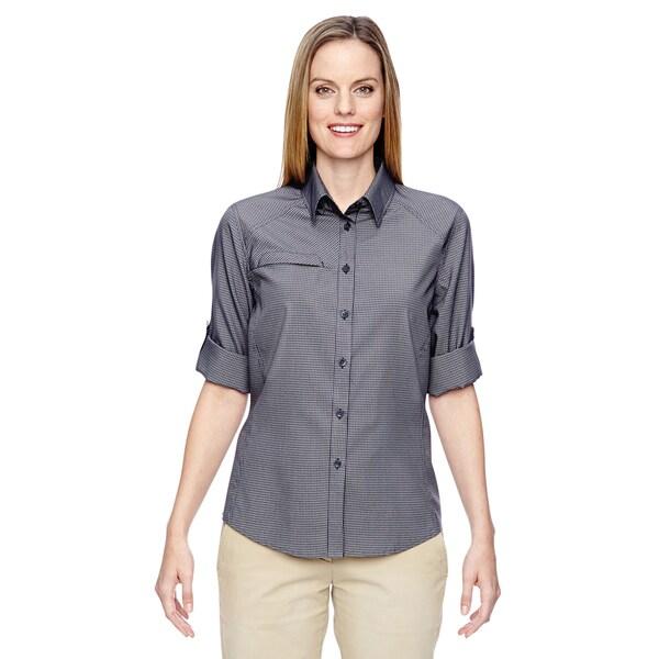 Excursion Women's Navy 007 F.B.C. Textured Performance Shirt