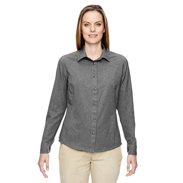 Excursion Women's Graphite 156 Utility Two-Tone Performance Shirt 19776060