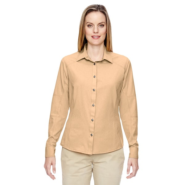Excursion Women's Stone Utility Two-Tone Performance Shirt
