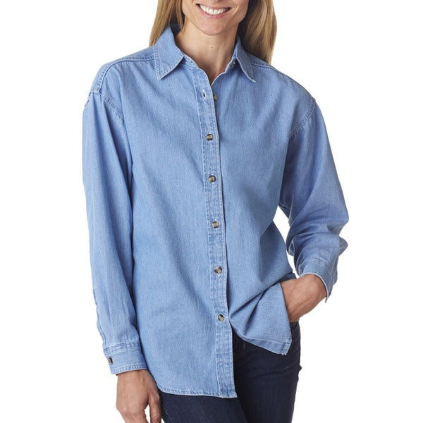 Cypress Women's Denim Light Blue Shirt