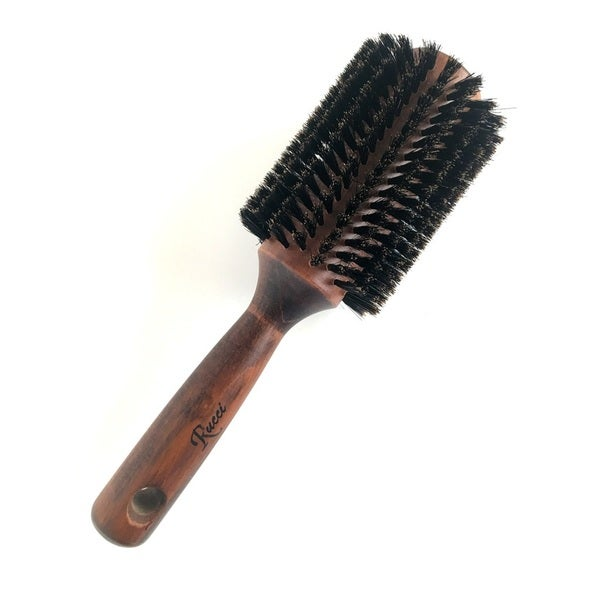 Large Round Wooden Hair Brush