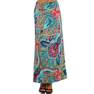 Women's Paisley Maxi Skirt