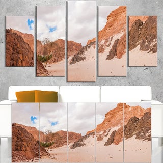 Fantastic Panorama of White Canyon - Extra Large Wall Art Landscape