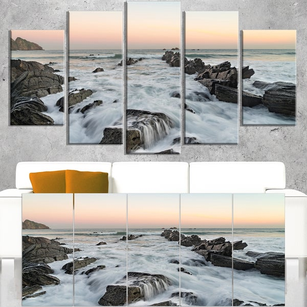 Bay of Biscay Spain Seashore - Extra Large Wall Art Landscape