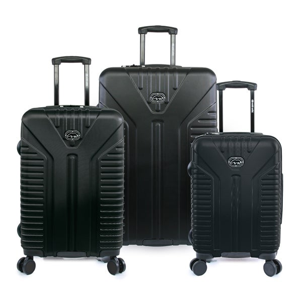 Ecko Unlimited Clyde 3-piece Hardside Lightweight Spinner Luggage Set