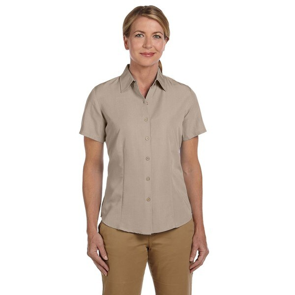Barbados Women's Textured Camp Khaki Shirt