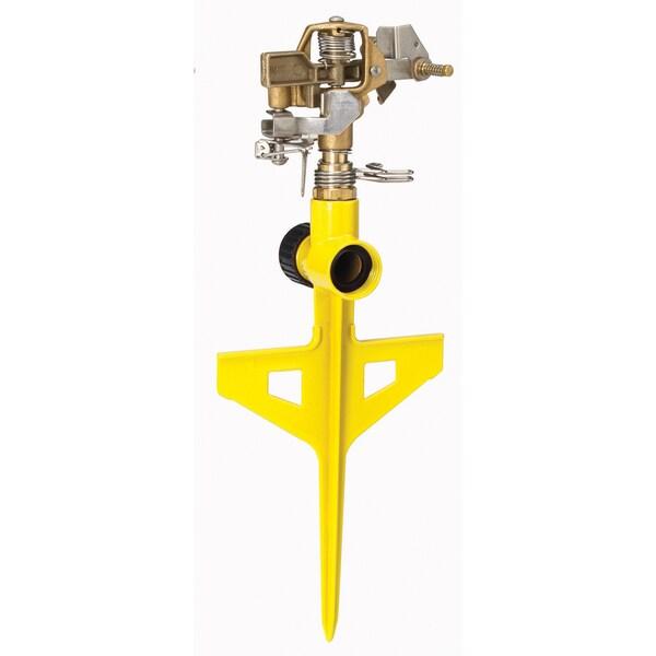 Dramm 10-15063 Yellow ColorStorm Stake Impulse Sprinkler