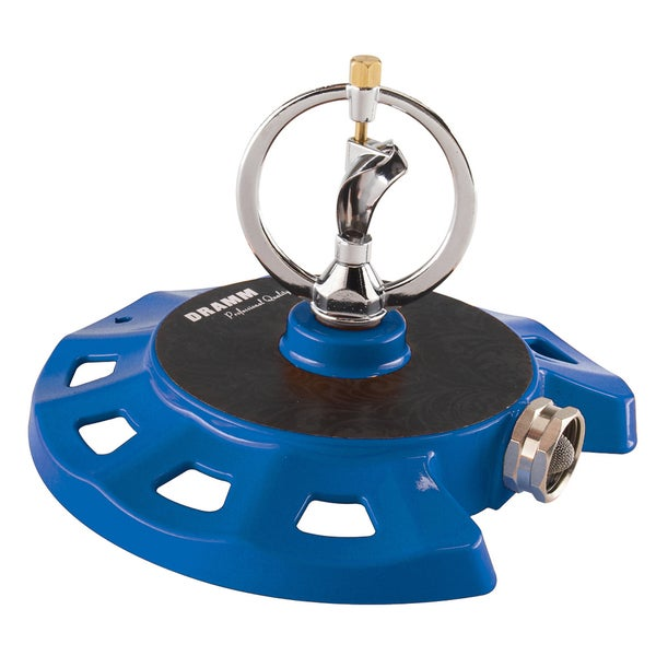 Dramm 10-15075 Blue ColorStorm Spinning Sprinkler
