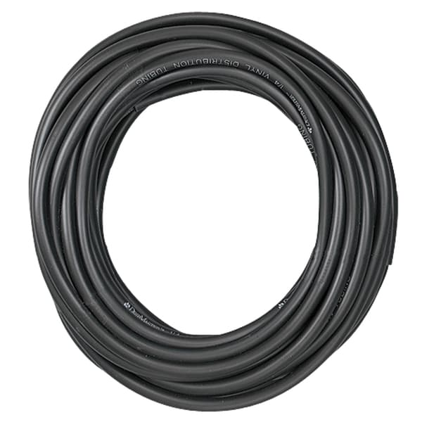 Orbit 67346 100-feet Black Poly Universal Drip System Tubing