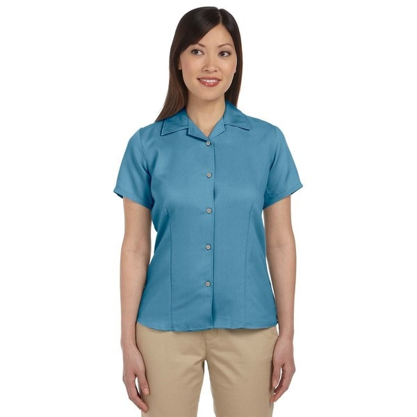Bahama Women's Cord Camp Cloud Blue Shirt