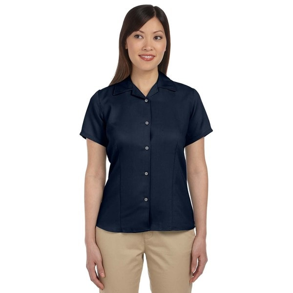 Bahama Women's Cord Camp Navy Shirt