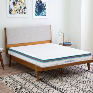 LINENSPA Queen-size Memory Foam and Spring Mattress