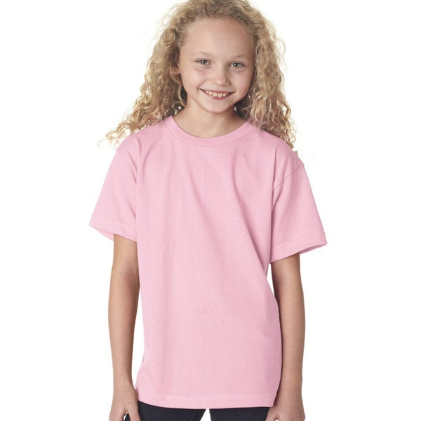 Boys' Pink Short-Sleeved T-Shirt