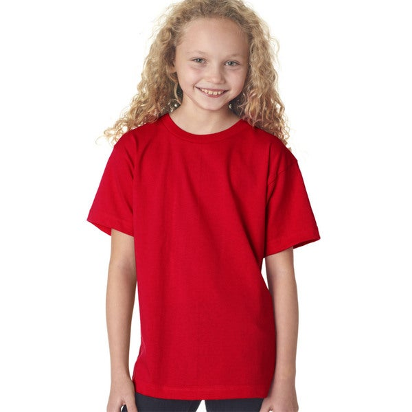Boys' Red Short-sleeve T-shirt