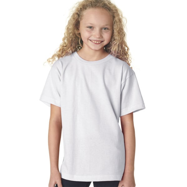 Boys' White Short-sleeved T-shirt