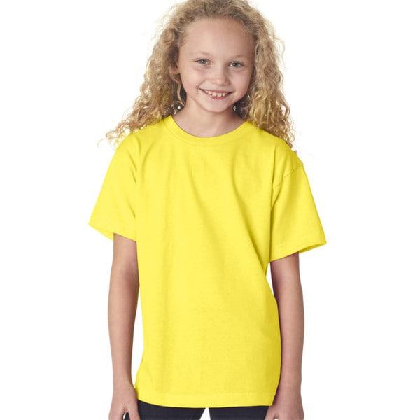 Boys' Yellow Short-sleeve T-shirt