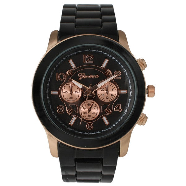 Geneva Women's Oversized Boyfriend Watch