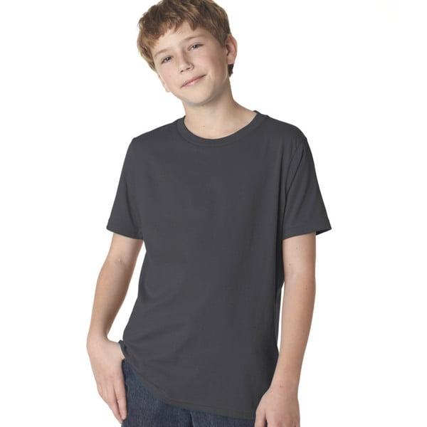 Next Level Boys Premium Short-sleeve Crewneck T-shirt