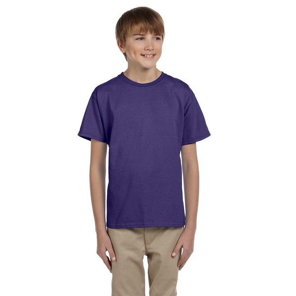 HiDensi-T Boys' Deep Purple T-Shirt