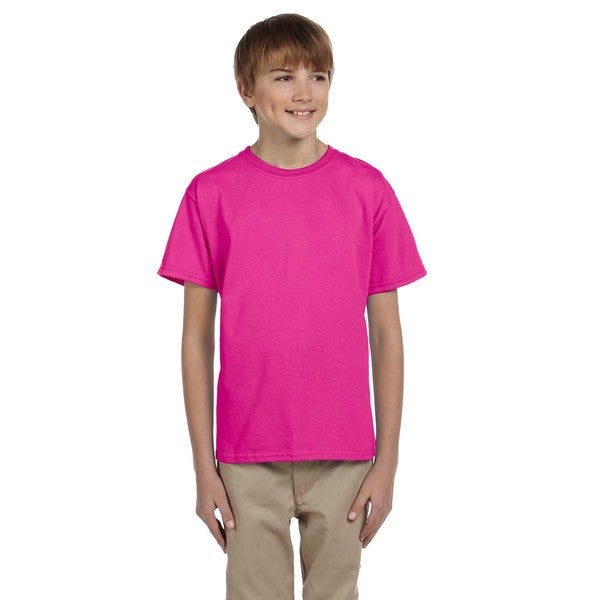 Hidensi-T Boys' Cyber Pink T-shirt