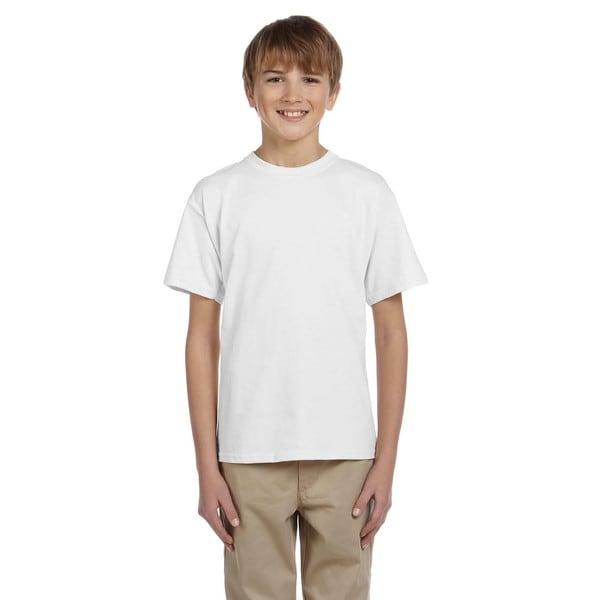 Hidensi-T Boys' White T-Shirt