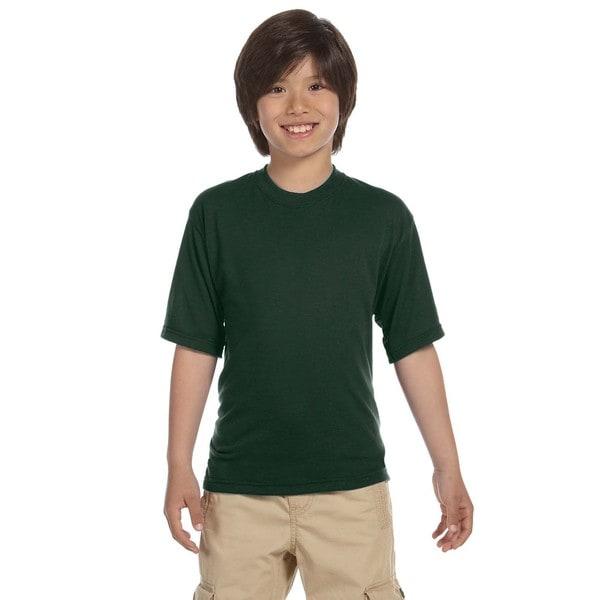 Jerzees Boys' Forest Green Sport T-shirt