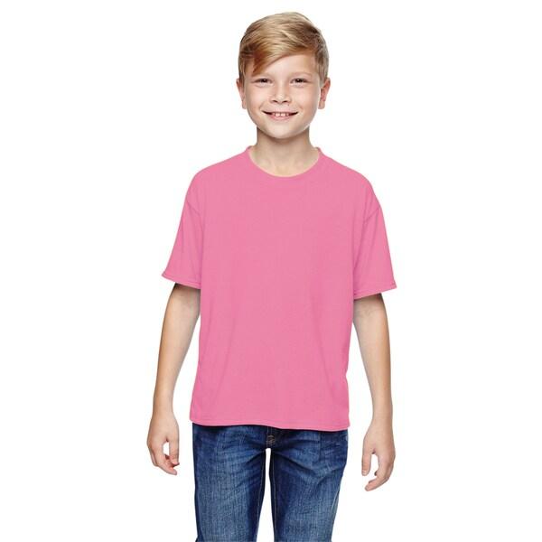 Jerzees Boys' Neon Pink Sport T-shirt