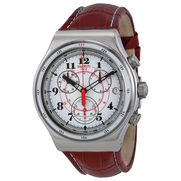 Swatch Men's YVS414 Back to the roots White Watch