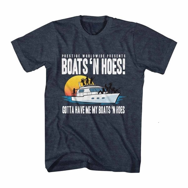 Step Brothers Boats 'N Hoes Blue T-Shirt