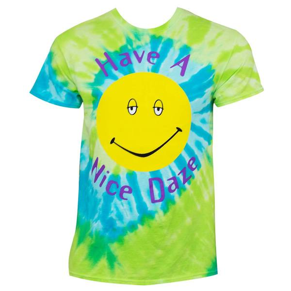 Dazed And Confused 'Have A Nice Daze' Green Cotton T-shirt