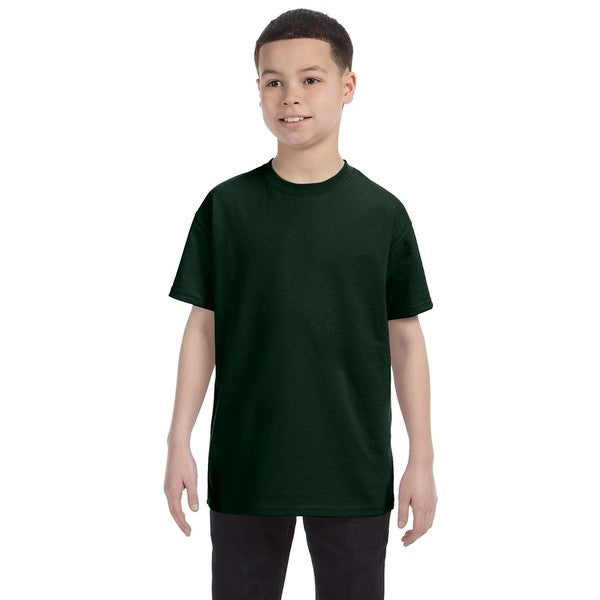 Heavyweight Blend Boys' Forest Green T-shirt